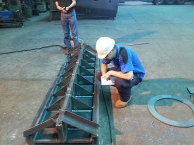 Completed another round of Welding Inspections in China